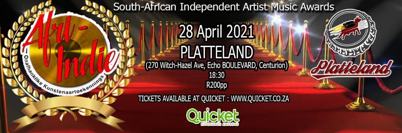 Book tickets for South African Independent Artist Music ...
